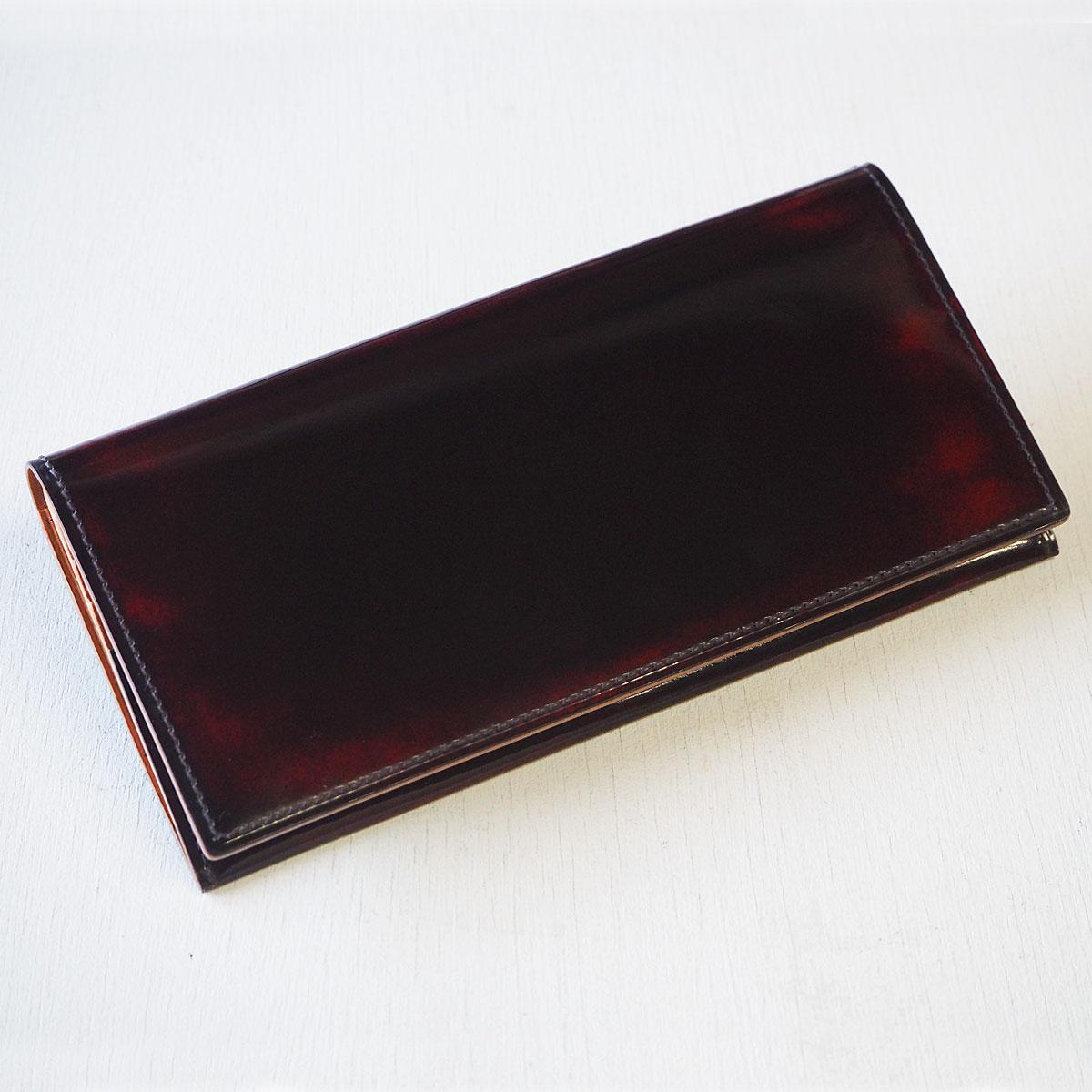 """革工房PARLEY(パーリィー) """"Parley Classic"""" (パーリィークラシック) 二つ折り 長財布 ラズベリーレッド [PC-07-RED]"""