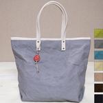 【7色から選べます】PEARL FISHER(パール フィッシャー) 帆布キャンバス ショルダートートバッグ [PF2015]