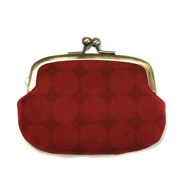 """poussette(プセット)がまぐち 2.9寸""""Large Dot Rouge Somble -ラージドット ルージュソンヴル-""""[g29100017]"""