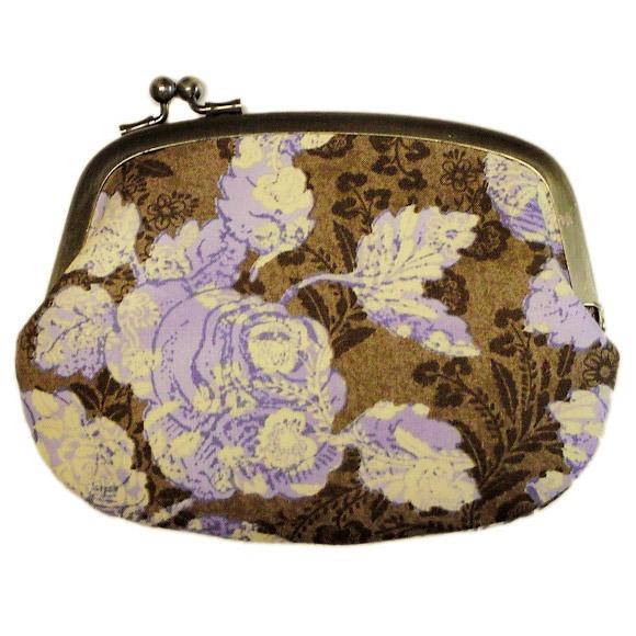 "poussette(プセット) がまぐちバッグ4.5寸""Old Rose (Violet) -オールドローズ(バイオレット)[g45100008]"