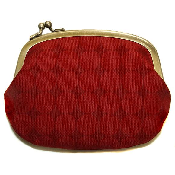 """poussette(プセット)がまぐち 4.5寸""""Large Dot Rouge Somble -ラージドット ルージュソンヴル-""""[g45100017]"""