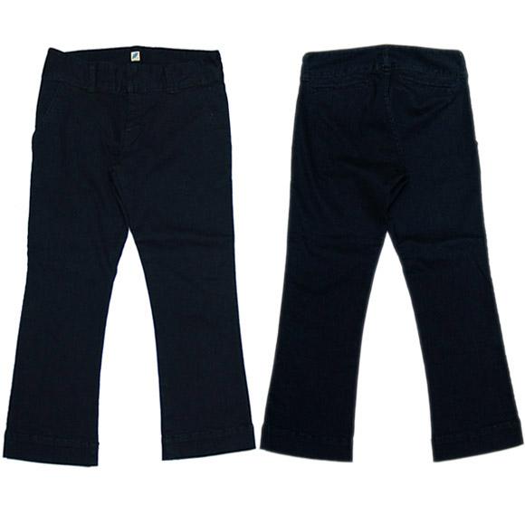 pure blue japan(ピュアブルージャパン) レディーススーパーストレッチスリムクロップドパンツ インディゴ [L-1089-IND]