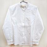 rolca on the notes(ロルカ オン ザ ノーツ)ツバキオイル ピンタックシャツ ホワイト [RO-1367]