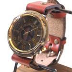 """vie(ヴィー) 手作り腕時計 """"antique wood -アンティークウッド-"""" Mサイズ [WB-007M]"""