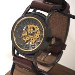"""vie(ヴィー) 手作り腕時計 手巻き式 """"velodrome -ベロドローム-"""" [WB-011]"""