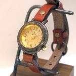 """vie(ヴィー) 手作り腕時計 """"simple wood -シンプルウッド-"""" Sサイズ [WB-045S]"""