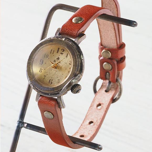 """vie(ヴィー) 手作り腕時計 """"hollyhock -ホーリーホック-"""" Sサイズ [WB-013S]"""