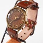 "vie(ヴィー) 手作り腕時計 ""ZIG-ZAG EDGE -ジグザグエッジ-"" Lサイズ [WB-056L]"