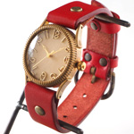"""vie(ヴィー) 手作り腕時計 """"ZIG-ZAG EDGE -ジグザグエッジ-"""" Mサイズ [WB-056M]"""