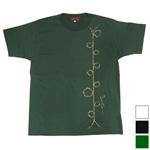 "YoriTo(ヨリート)手描きTシャツ""撚り糸""半袖 [YT0002]"